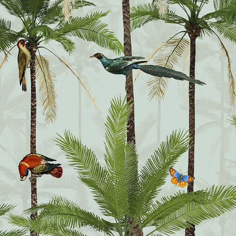 טפט Tropical Birds