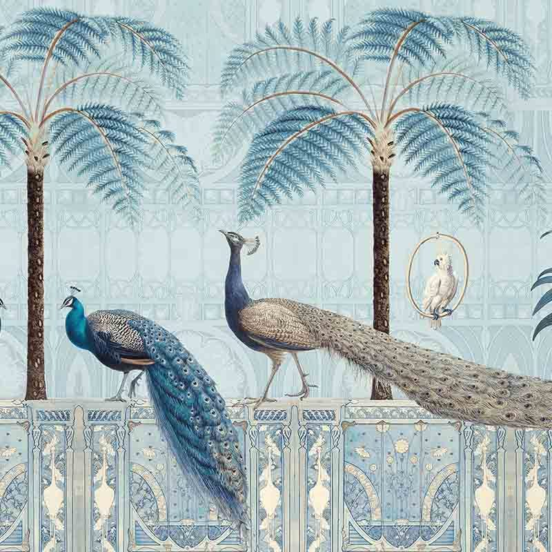 טפט Chinoiserie Birds Palace Diamond