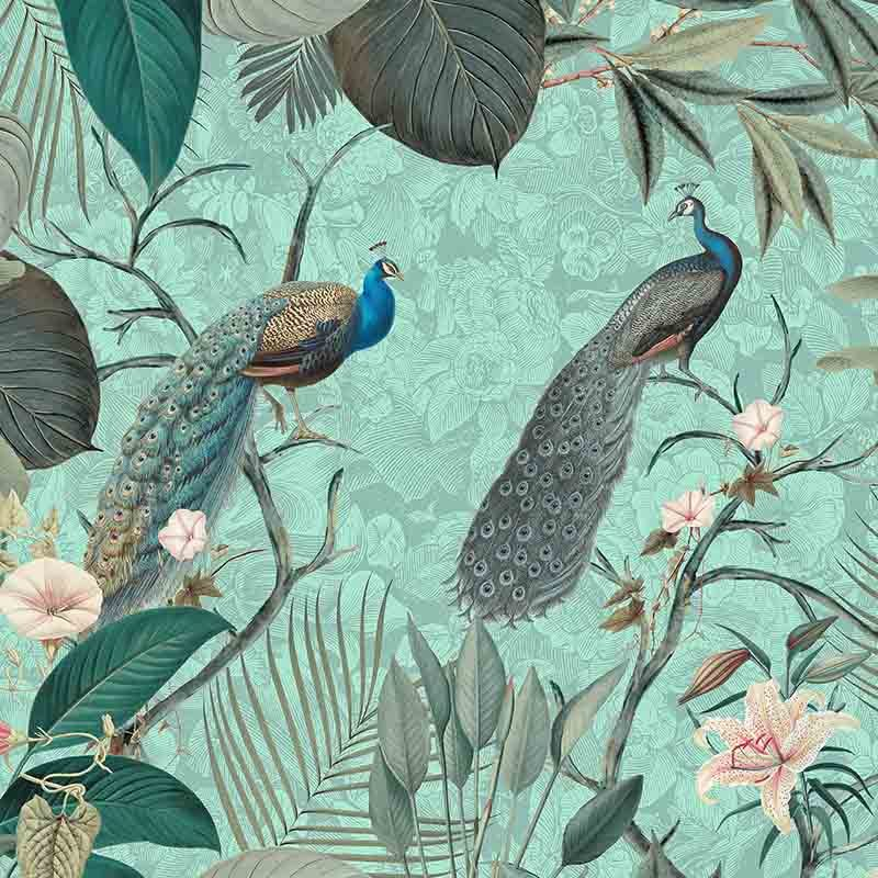 טפט Peacock Jungle – Tropical