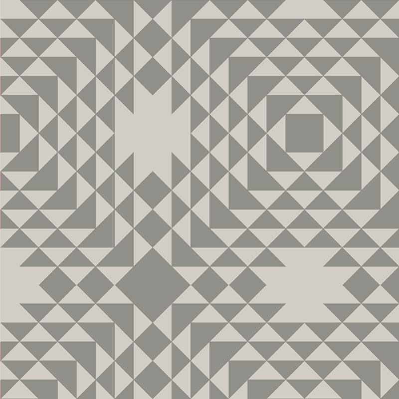 טפט Geometric Grey