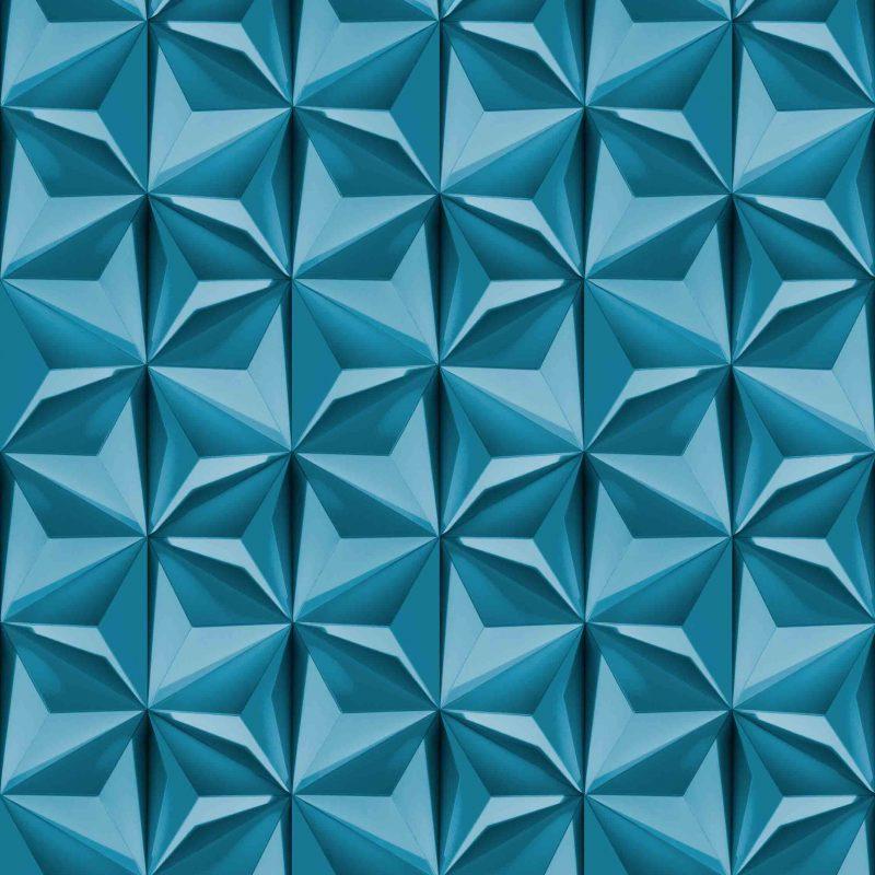 טפט Prisms Blue