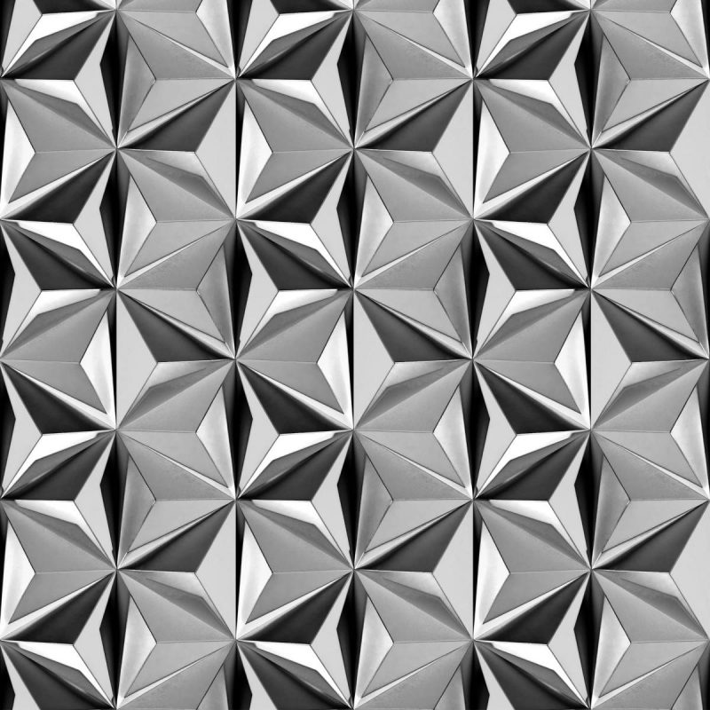 טפט Prisms Charcoal