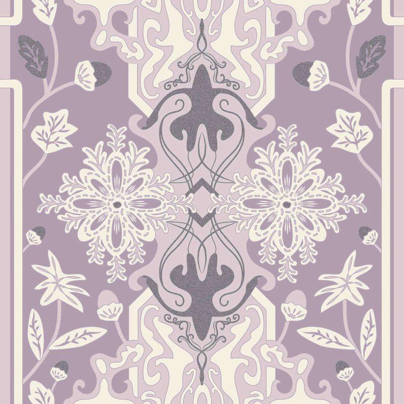 טפט Calm Purple